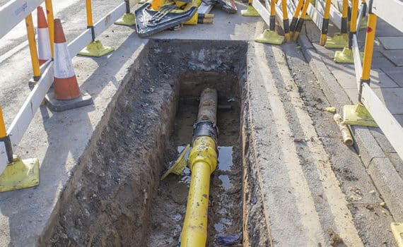 When In Doubt Bid It Out - Waterline Extension Spring Valley
