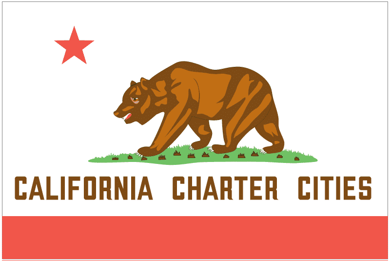 California Charter Cities Flag